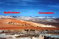 View toward Bethlehem